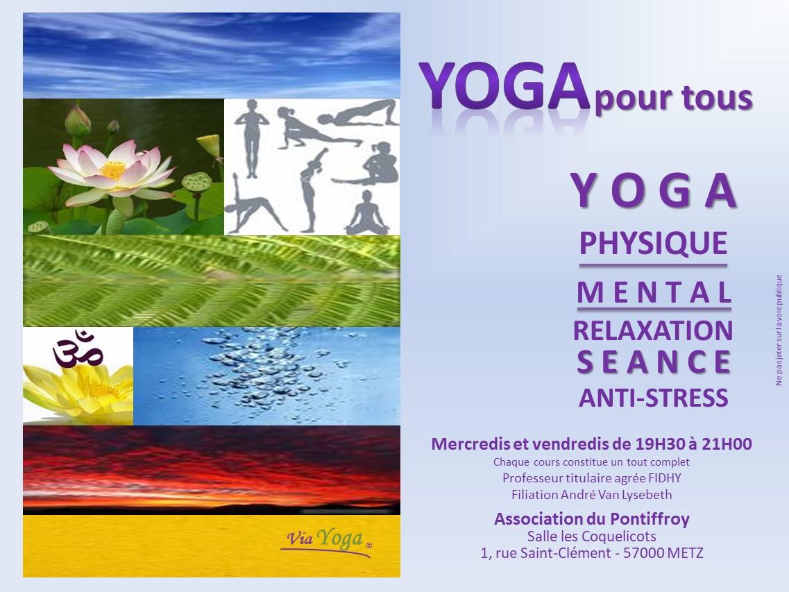 Yoga pour tous - Pascal DRUI