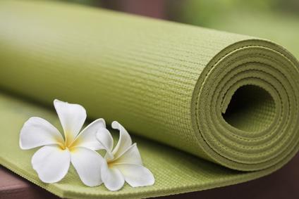 Fotolia tapis yoga xs